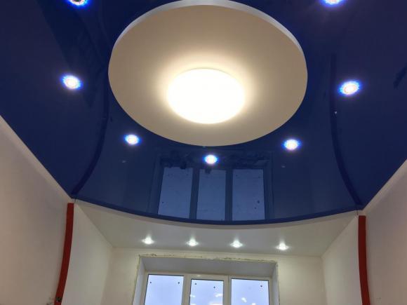 Натяжной потолок для детской комнаты в Лисках