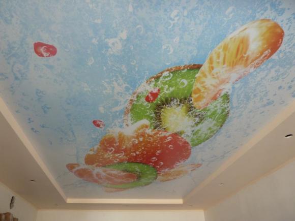 Аппетитный натяжной потолок в Боброве