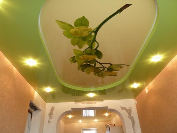 Отличный натяжной потолок для жителя Острогожска!