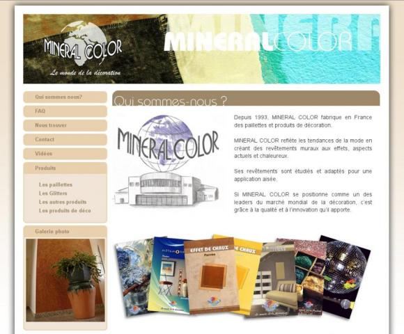 Mineral color. Французские декоративные покрытия