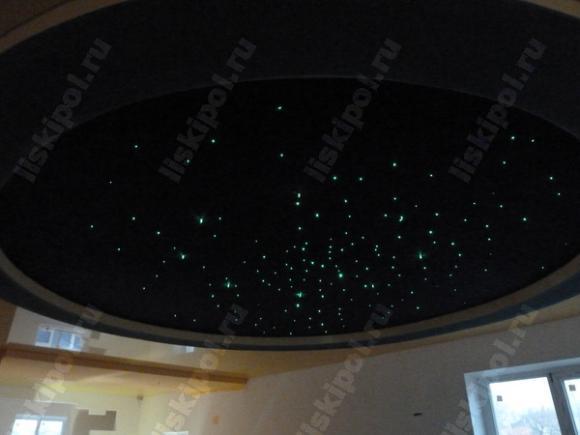 """Потолок """"Звёздное небо"""". Лиски"""