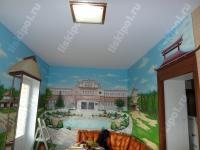 Тканевый потолок - основа для росписи...